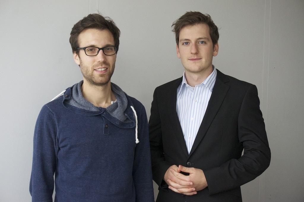 Dr Severin Jan Sterr und Peter Hart v.l.n.r. Foto Menzel