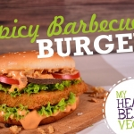 Plakat Burger Spicy Barbecue