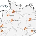 4Scotty Deutschlandkarte vorschau