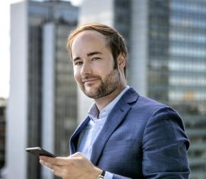 Schweden Christian Gaiser, CEO und Gründer der Bonial.com Group und kaufDA am 17.08.15 in Stockholm (Bild: Magnus Fond)