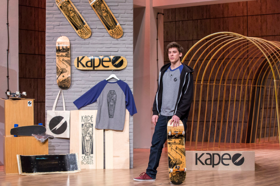KAPE SKATEBOARDS DHDL