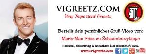 Vigreetz WERBEBANNER (Mario-Max Schaumburg-Lippe)