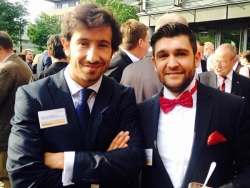 Partner Alpha Beta Johannes Matthias (links), Nadim Iraki (rechts)