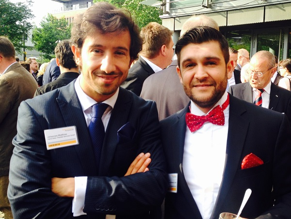Partner Alpha Beta Johannes Matthias (links), Nadim Iraki (rechts)