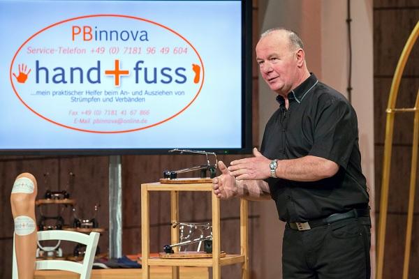 Hand und Fuss Klaus-Peter Beer (68) Foto: VOX/Bernd-Michael Maurer