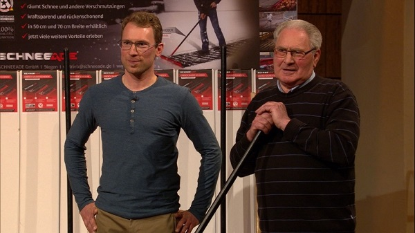 SCHNEEADE Michael Debus (l.) und Ottmar Debus. Foto: VOX/Sony