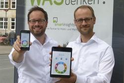 Dr. Tobias Recke links, Fabian Stichnoth rechts; Quelle: smart insights GmbH