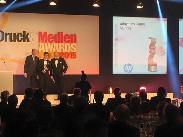 Verleihung Druck und Medien Awards 2015 copyright adnymics