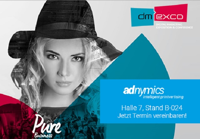 dmexco2017_Adnymics in Halle 7 Stand B-024