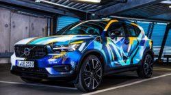 René Turrek verwandelt neuen Volvo XC40 in audiovisuelles Kunstwerk