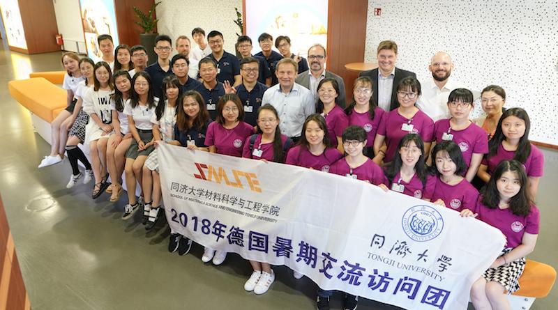 Covestro setzt auf Zusammenarbeit mit chinesischen Studenten