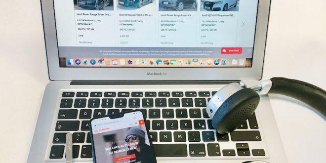 Online-Autokauf