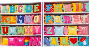 Buchstabenkissen carokissen kissen