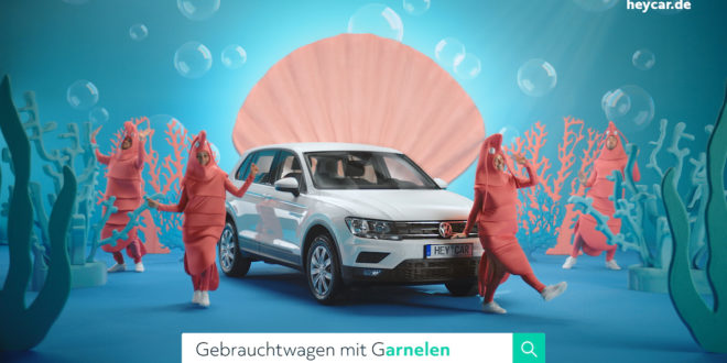 Gebrauchtwagen mit Garnelen? – heycar Spot für den Herbst