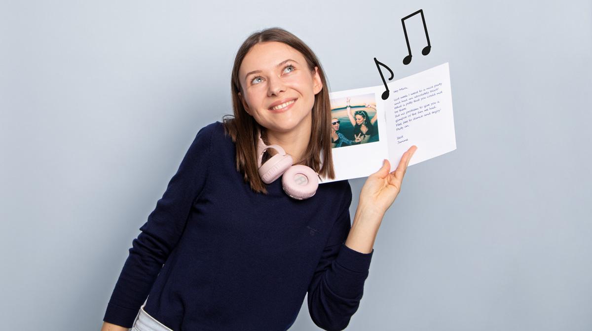 Sprachnachricht Postkarte: MyPostcard launcht die Audio-Karte