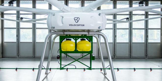 John Deere und Volocopter Großdrohne