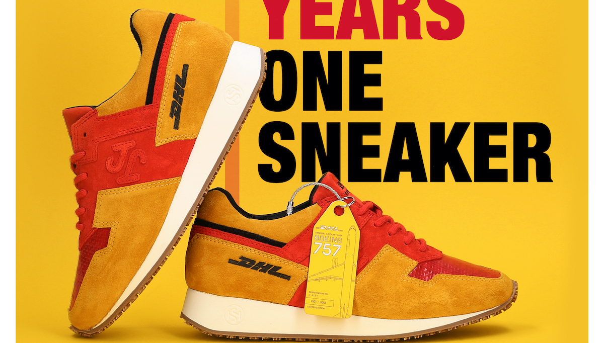Mybudapester.com: Die Kampagne rund um den DHL 1 Sneaker