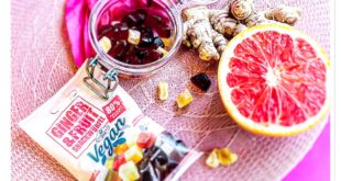 Vegane Gummies Ginger und Fruit oder Smoothie-Gummies