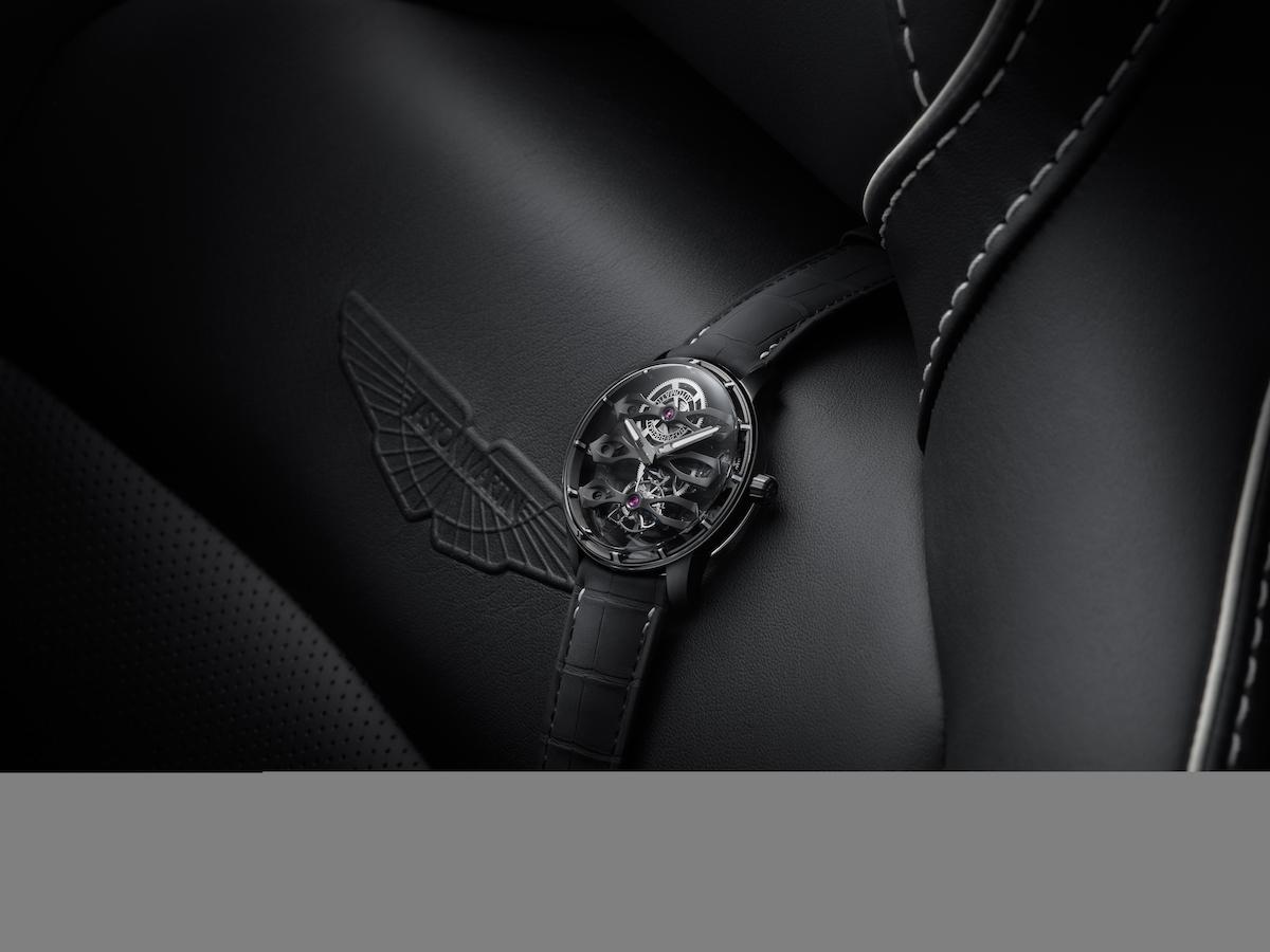 Tourbillon with Three Flying Bridges – Aston Martin Edition